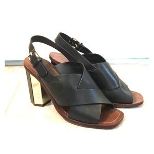 Tory Burch block heel